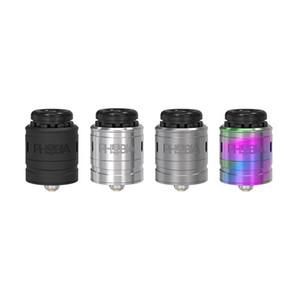 Auténtico VandyVape Phobia V2 RDA Tank 1ml Single Dual Coil Buildable 810 / PEI / 510 tres tipos de puntas de goteo