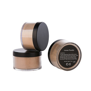 Makeup Powder for Women 6 Colors Face Loose Powder Face Makeup Long Lasting Loose Powder Skin Finish Foundation