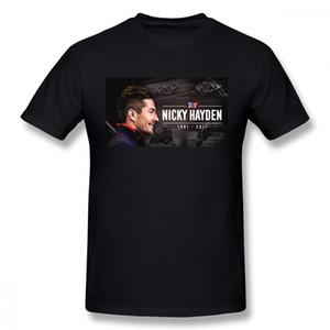 Boy Rip 69 Nicky Hayden 1981 - 2017 Graphic T Shirt O - Neck 3d Print Motogp T-shirt