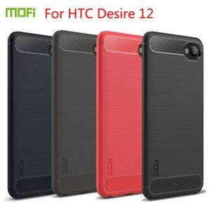 Per HTC Desire 12 Case Cover di alta qualità MOFI con custodia in TPU per HTC Desire 12 Soft TPU Cover per telefono posteriore con HTC Desire 12