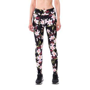 Pottis Femmes Leggings Flora 3D Imprimé Slim Mesh Leggings Sexy Skinny Fitness Legging Soft Yoga Pantalons Plus La Taille