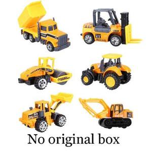 Mini aleación Modelo de coche de ingeniería Tractor Juguete Camión volquete Modelo Diecast Aleación Vehículo de construcción Hotwheels Coches de juguete clásicos
