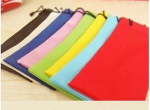 جودة عالية حلوى لون البلاستيك النظارات الشمسية الحقيبة الناعمة حقيبة النظارات النظارات حقائب الهاتف الرباط الحالات النظارات