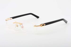 2019 glasses frames for men women high-quality comfortable Aztec glasses frames 5952148 ultra-light frameless glasses frame, size: 56-18-140