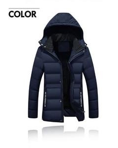 Ropa de invierno nueva, ropa acolchada de algodón más grueso, chaqueta de hombre con capucha para hombres, abrigo de plumón, M 4L