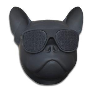 Bulldog Haut-Parleur Portable Haut-Parleur Bluetooth 8 W Sortie Basse Stéréo Personnalisé Cool Artistique Haut-Parleur Sans Fil pour La Maison Parti Café Bar Compat