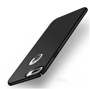 Iphone 7 artı case için pURE durumda, slim fit kabuk sert plastik pc case iphone için yumuşak kaplama ile x