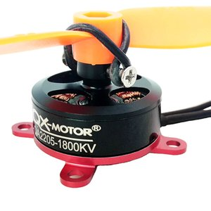 QX-MOTOR Series QA2205 1400KV 1800KV external brushless motor For F3P RC Fixed-wing Airplane