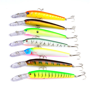 Haute radiation Streamline Crankbaits crochets 15,3 cm 16,8 g 7COULEURS Isca artificielle Alice lèvre Leurres BASS Swimbaits