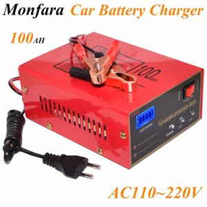 12V / 24V 10A 6-105AH 범용 자동차 배터리 충전기 오토바이 배터리 충전기 리드 산성 배터리 충전기