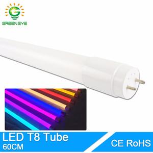 GreenEye High Bright LED Tube T8 Integrated 10w 60cm 2Feet 220V LED Fluorescent Light Tube Lamp Warm Cold White Bulb neon