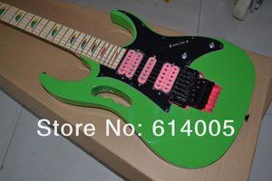 Frete grátis de Alta qualidade New JEM 7 V Guitarra Elétrica, Verde