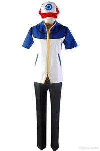 Costume Cosplay Ketchum Cendres Satoshi Style