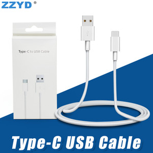 ZZYD 3FT 6FT 10FT USB Cable Type C Charging Data Sync Cord for Samsung S8 Note 8 HTC