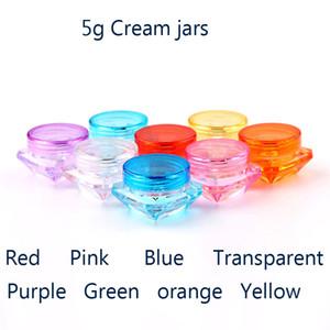 X5g маленький квадратный бутылка косметический пустой банку горшок тени для век губы бальзам крем для лица образец контейнера H-02