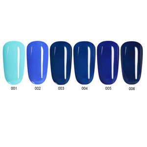 Ms. Queen Aquamarine Blue Series Nail Gel Polish Blue Color UV Gel Polish 10ml Soak Off UV Varnish Lacquer Enamel