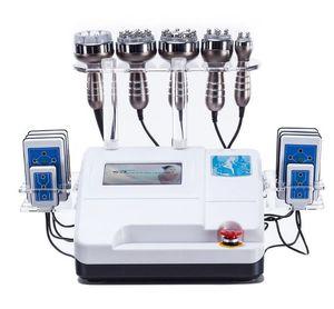 Cuerpo ultrasónico de la succión del vacío de la cavitación RF de 6in1 40K que adelgaza el CE de la máquina de la belleza