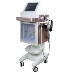 facial hydro dermoabrasion chorro de oxígeno piel de la piel hidratante Oxygen Injector pulverizador agua piel managment máquina de la belleza