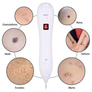 LCD Láser Máquina de Eliminación de Pecas Piel Mole Removedor de Mancha Oscura Tatuaje Verruga Etiqueta Eliminación Pluma Salón Hogar Cuidado de la Belleza Hogar Dispositivo de Belleza