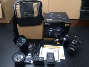 PROTAX POLO D7100 appareil photo numérique 33MP pleine HD1080p zoom optique 24X Auto Focus caméscope professionnel gratuit DHL