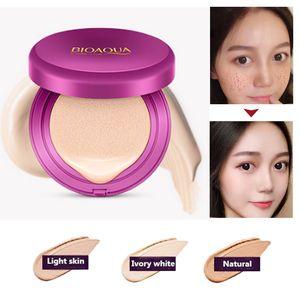 Новый BIOAQUA воздушной подушке CC крем консилер увлажняющий Фонд макияж корейский косметика отбеливание лица красота макияж