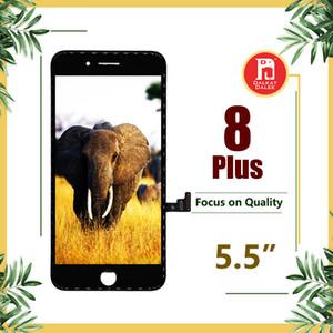 Para iphone 8 Plus Pantalla LCD Pantalla táctil digitalizador Ensamblaje completo AUO Alta definición Pasa prueba de polarizador de gafas de sol