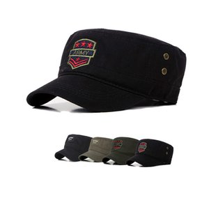 Hat man cotton baseball cap five-pointed star embroidered cap outdoor leisure hat can choose the color,D06
