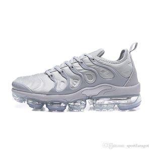 2018 Новый TN Plus кроссовки Дизайнерская обувь Классический Открытый Run Обувь Т.Н. Черный Белый Sport Shock кроссовки Mens ReQuiN Olive Silver