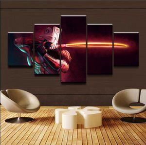 DOTA 2 Juggernaut game poster Art Print Frameless Movie Poster battlefiel Painting Living Room Wall Decoration Printed On Canvas Room Decor