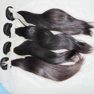 3 связки смешивают длины только 8A девственные волосы филиппинские натуральные шелковистые прямые переплетения связки долгосрочный бизнес навсегда