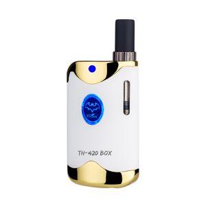 Kangvape TH-420 II dickes Öl-Mod-Verdampfer mit K1-Zerstäuber 0,5 ml variable Spannung 650mah keramische Heizung E-Zigarette th420