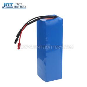 Cina gratuita fornitori batteria al litio 24v 24volt 10ah 18650 per motore 250w / 350w + 15A BMS + caricabatterie 2A