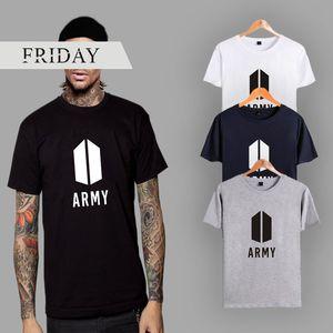 BTS Bangtan Boys Fan Club T-Shirt Größe 2XS-4XL Schriftzug und Grafik Print Kurzarm-Krawatte große Größe Paar Kleidung