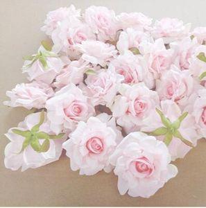 Yeni Tasarım 50pcs Düğün Dekorasyon Yapay Çiçekler Kafa 10 Cm Diy Çelenk Hediye için Kutu Çiçek İpek Partisi Tasarım Çiçekler