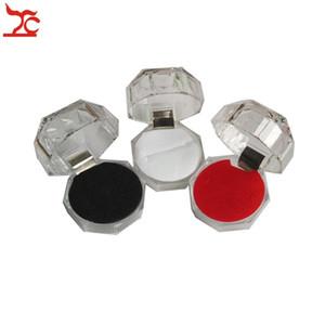 Acryl Delicate Fashion Jewelry Box Für Ring Armband Anhänger Perlen Ohrringe Pins Ring Halter Display Box schmuckschatullen und verpackung