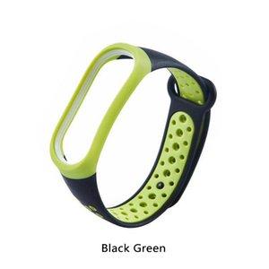 Pour la bande Xiaomi 3 bracelet Xiaomi 3 bracelet intelligent accessoires Xiaomi de remplacement silicone à deux trous de couleur 3 mi montres bracelet bracelets