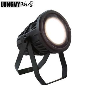 Ücretsiz Kargo 12pcs / lot Yüksek Güç Su geçirmez 200W WarmCold Beyaz Renk COB LED Par Işık Profesyonel Açık Sahne Dj Disco