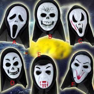 أقنعة إرهابية هالوين رعب شبح يصرخ هيكل عظمي هالوين قناع كشر قناع الجمجمة يشكلون حزب بالجملة Free Shi