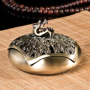 Sculpté à la main auspicieux Nuages dragon creux Couverture Encensoir Encensoir pour porte-cône encens Décoration d'intérieur Décorations Cadeaux Livraison gratuite