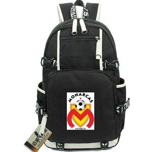 Monarcas Morelia mochila Atletico mochila Clube de futebol mochila de futebol Mochila de futebol Mochila para laptop Saco de escola de esporte Out door day pack