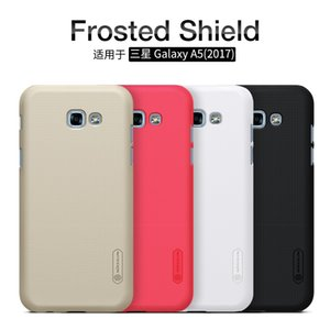 wholesale frosted phone bag case for Samsung galaxy a5 2017 hard plastic matte back cover+Screen Protector phone cases for a520f