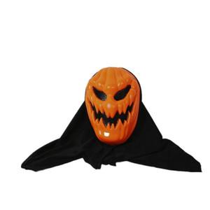 Halloween citrouille Effrayant Terrifiant Horrible Effrayant Réaliste Crâne Fantôme Masque Cosplay Costumes Accessoires De Fête Mascarade Fournitures