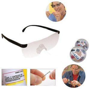 1,6 fois la loupe Luge Lunettes de lecture Big Vision +250 grossissement Lunettes de lunettes Presbyopique Luge de lunettes C741