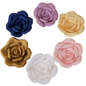 Creazione 3 Pz Fiori di Carta Artificiale Fiori Rosa Decorazione di Nozze Artigianato FAI DA TE Baby Shower Festa di Compleanno Decorazioni Per La Casa WX9-608