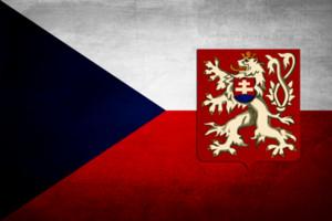 Czechoslovakia Grunge Flag Banner 150CM*90CM 3*5FT Polyester Custom Banner Sports Flag