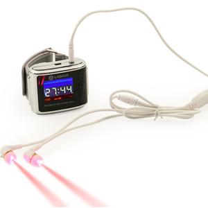 ATANG 건강 관리 제품 레이저 시계 비강 낮은 수준의 레이저 치료 650nm 가벼운 치료 Lllt 비염 이명