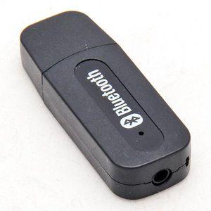 Mini USB Stereo Wireless Power ricevitore Bluetooth Music Receiver Dongle 3,5 millimetri altoparlante audio 5V Jack per il telefono mobile Black White