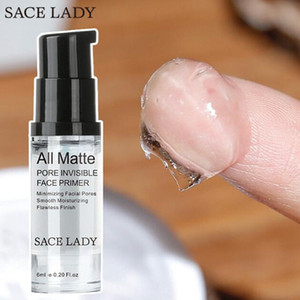 Hot SACE LADY 모든 매트 모공 보이지 않는 얼굴 프라이머 스무딩 보습 흠없는 마무리 메이크업베이스 샘플 크기 6ml 페이셜 메이크업