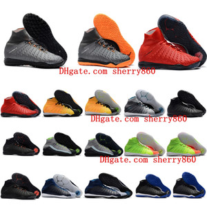 2018 hot mens indoor soccer shoes hypervenom Proximo soccer cleats HypervenomX Proximo II DF TF IC boots size 39 - 46