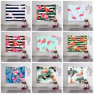 3D Digital Printed Strandtuch Rechteck Sonnencreme Sun Shading Badetücher Flamingo Streifen Patter Tapestry Fabrik Direkt 18lsb BB